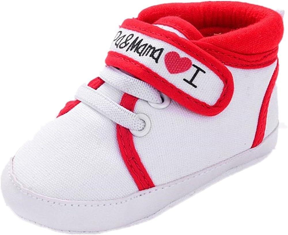Zapatos Bebe Fossen I Papa&Mama Zapatos Suela Blanda del Antideslizante Primeros Pasos para Recién Nacido Niña Niño