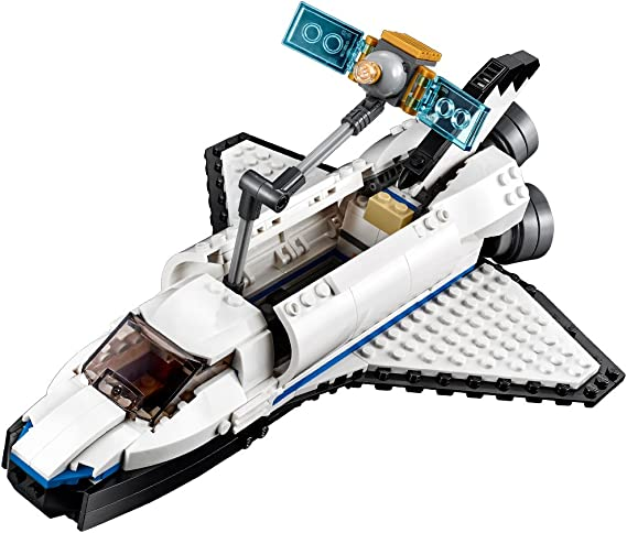 NEW LEGO Creator Space Shuttle Explorer 31066 Building Kit 285 Piece SHIPS FREE