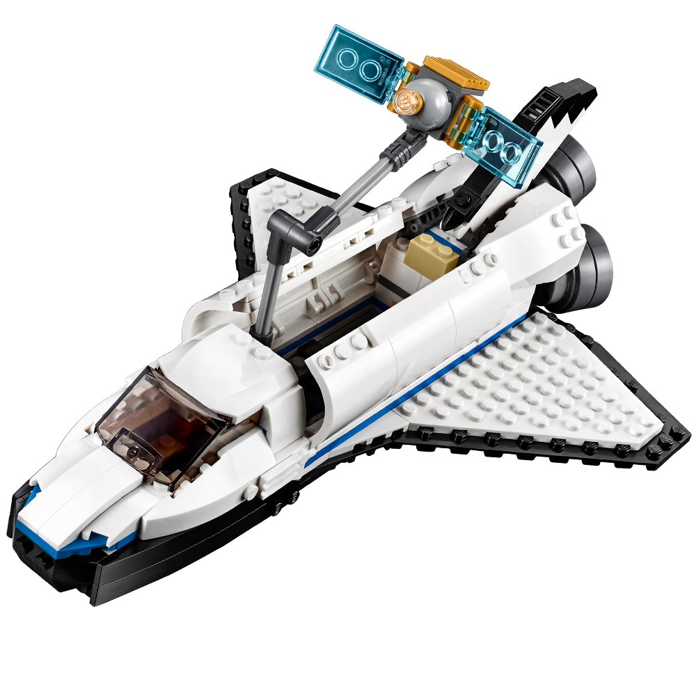 lego creator space shuttle explorer 31066 building kit. Black Bedroom Furniture Sets. Home Design Ideas