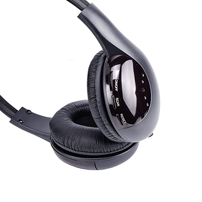 Rybozen - Auriculares inalámbricos para televisión, funciones 5 en 1, con transmisor, radio FM, conector de 3,5 mm, chat de red y control: Amazon.es: ...