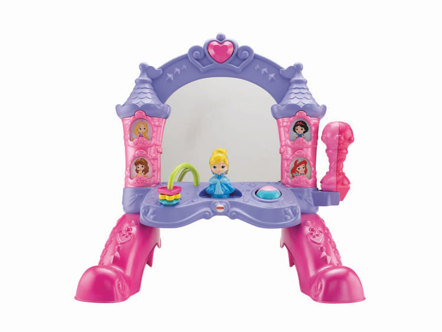 Amazon Fisher Price Disney Princess Musical Mirror Toys Games