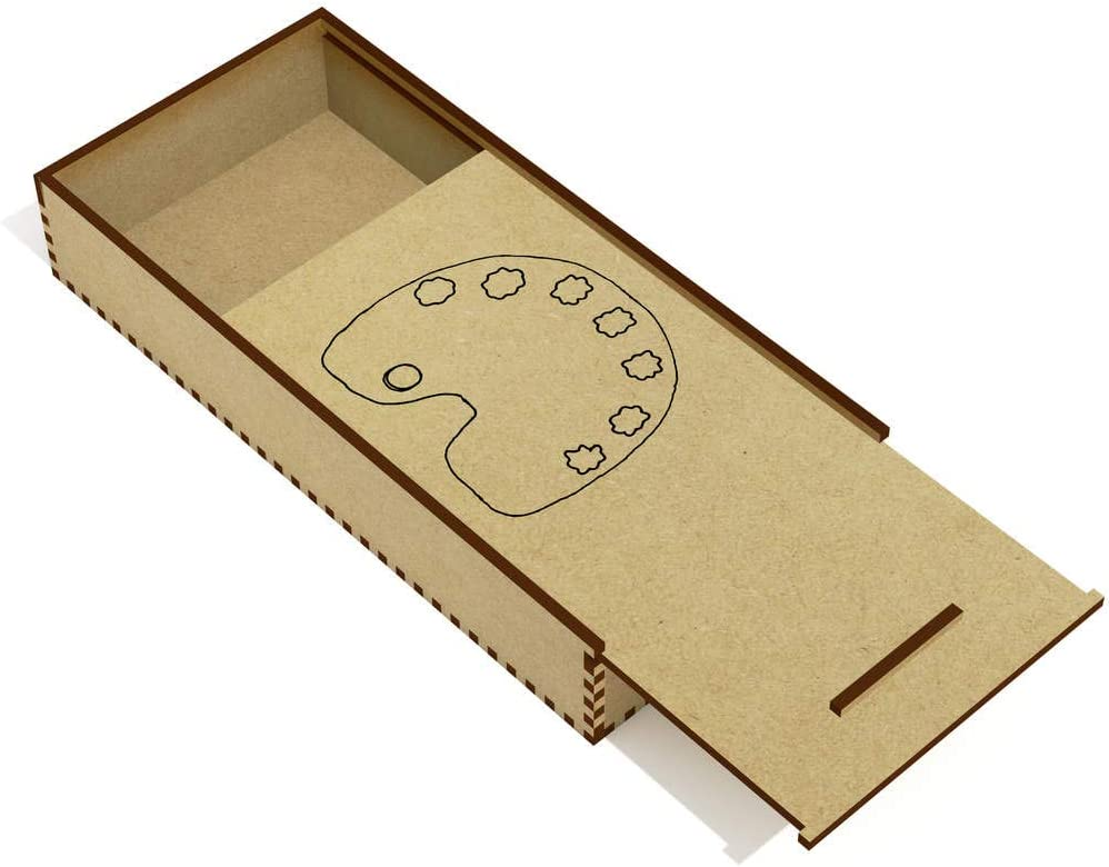 Azeeda Paleta de Pintura Estuche de lápices de Madera (PC00019601): Amazon.es: Juguetes y juegos