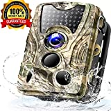 Trail Camera 16MP 1080P HD Game Hunting Cam 940nm 44Pcs IR LEDs Night Vision Motion Activated Cameras with 2.4' LCD and IP66 Waterproof …