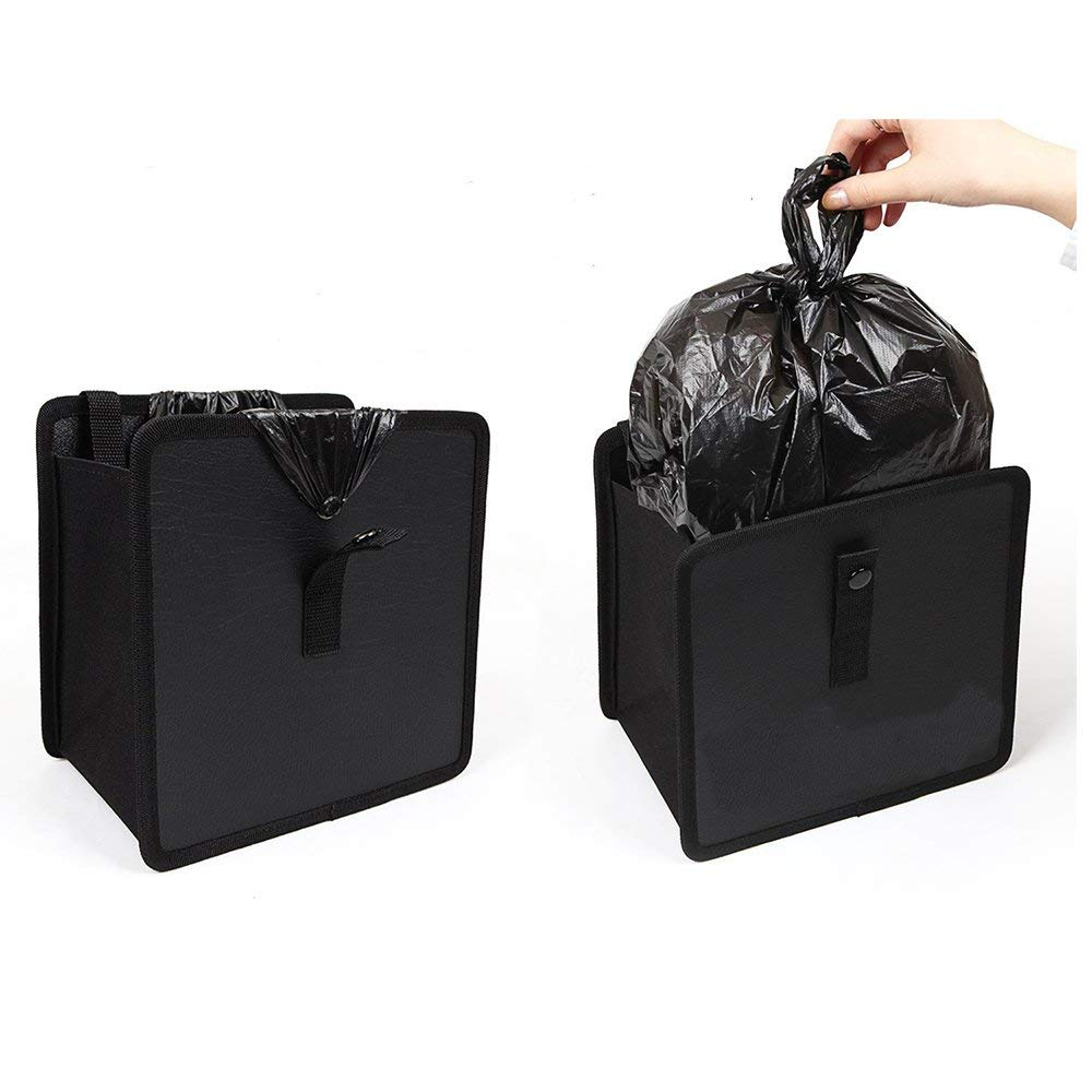IPELY 2 Pack Car Trash Can Car Garbage Can Cute Vehicle/Trash/Can Headrest Trash Bin Wastebasket