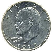 1 Moneda de $ 1 dólar de Estados Unidos Eisenhower Ike 1971 a 1978 Coleccionistas.