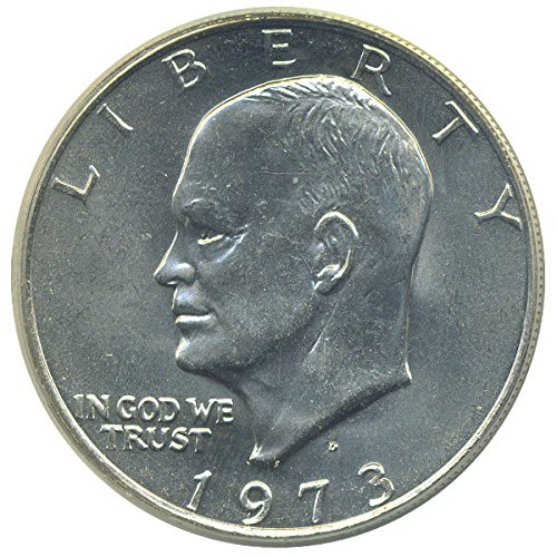 1 U.S. Eisenhower Ike $1 Dollar Coin 1971 to 1978 Collectors (1972 Eisenhower Dollar Coin)