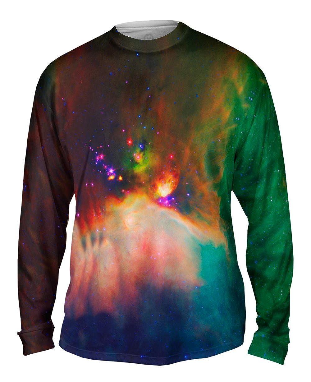 Mens Long Sleeve TShirt Space Galaxy Rho Oph Babies Yizzam