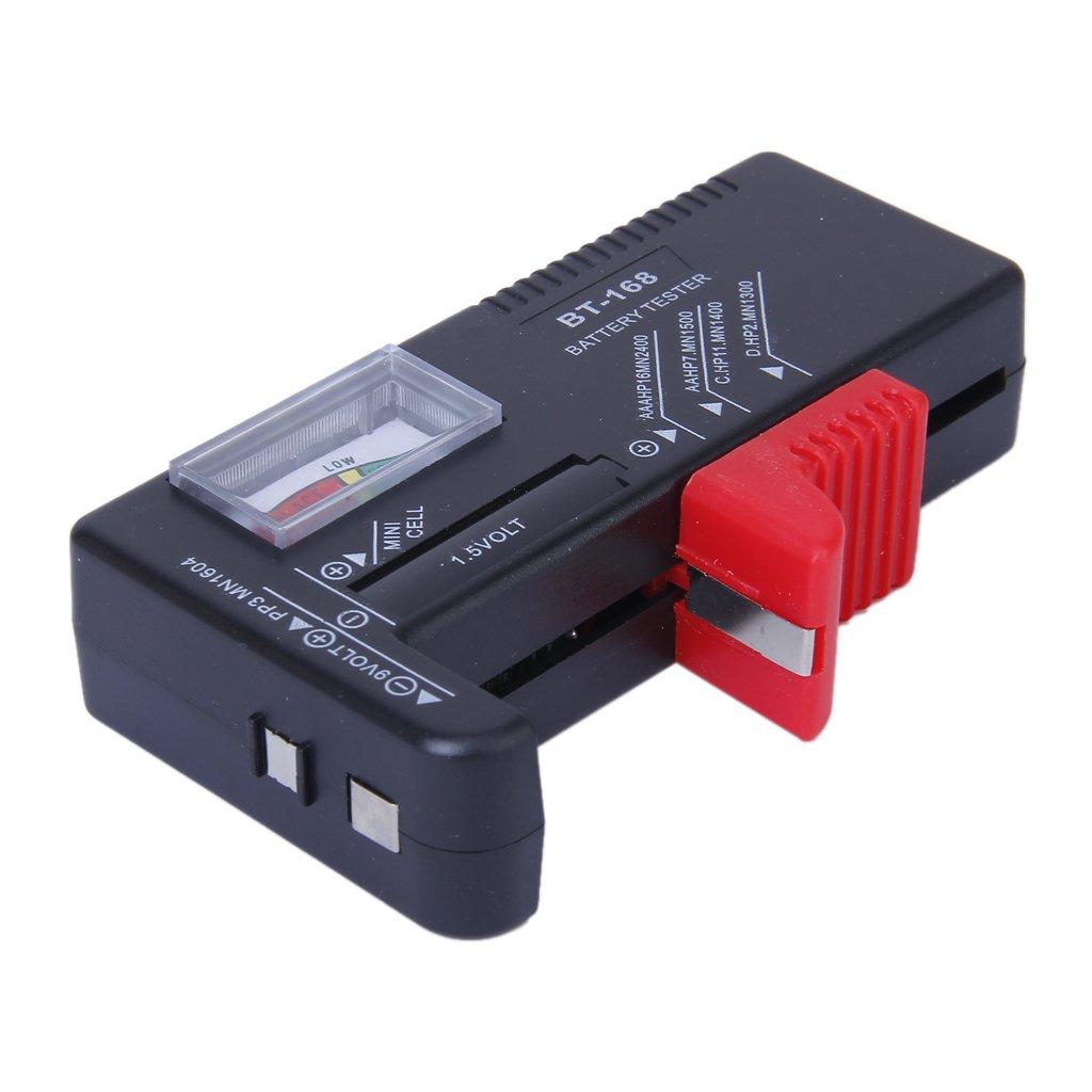 Waymeduo Universal Batterietester Batterie Tester Pruefer Batterie Pruefgeraet