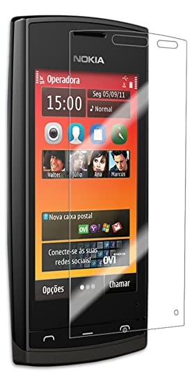 Amazon com: Nokia 500 Screen Protector, IQ Shield LiQuidSkin