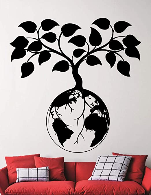 Earth Protect Diseñado Pegatinas de pared Significado especial ...