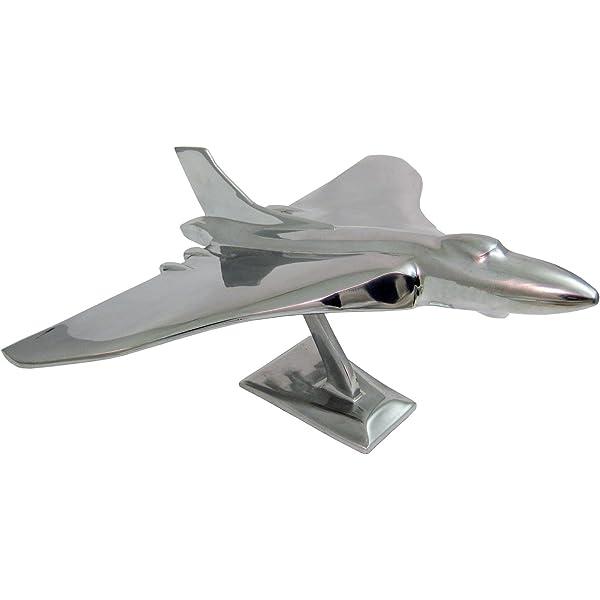 Aluminium Vulcan Bomber Jet Plane Model Wing Span 42.4cm