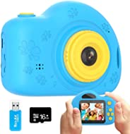 Coodoo Gifts for Boy Toys Kids Camera for 3+ Year Old Boys & Girls 2.0 Inch IPS Screen 1080P 4X Digital Zoom Mini Video Reco