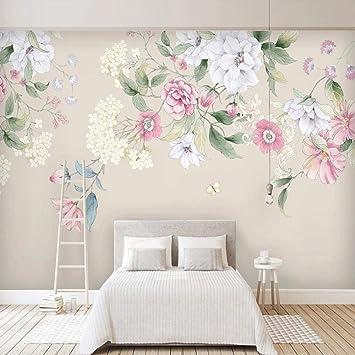 Amazon Com Zbybbby Waterproof Silk Cloth Wallpaper Custom