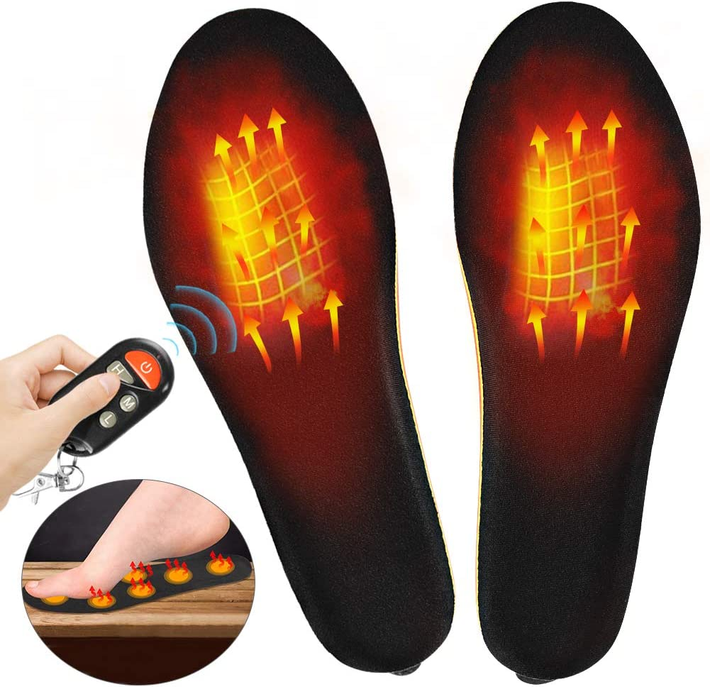 Upstartech Remote Control Heated Insoles: