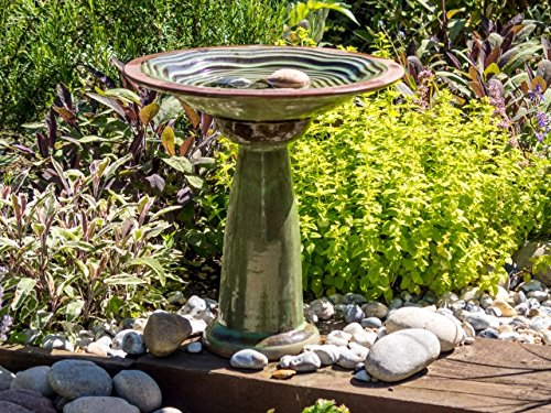 Wildlife World  Echo Bird Bath with Stand