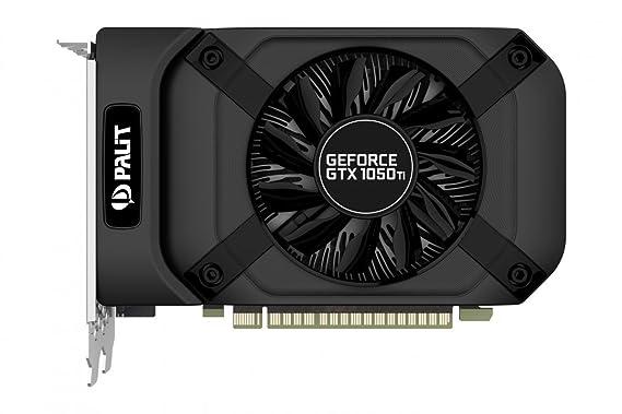 Palit GeForceGTX 1050 Ti StormX GeForce GTX 1050 Ti 4GB GDDR5 - Tarjeta gráfica (NVIDIA, GeForce GTX 1050 Ti, 4096 x 2160 Pixeles, 1290 MHz, 1392 MHz, ...