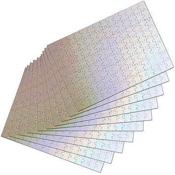 Puzle Rectangular tamaño A3 para sublimación (1 Unidad ...