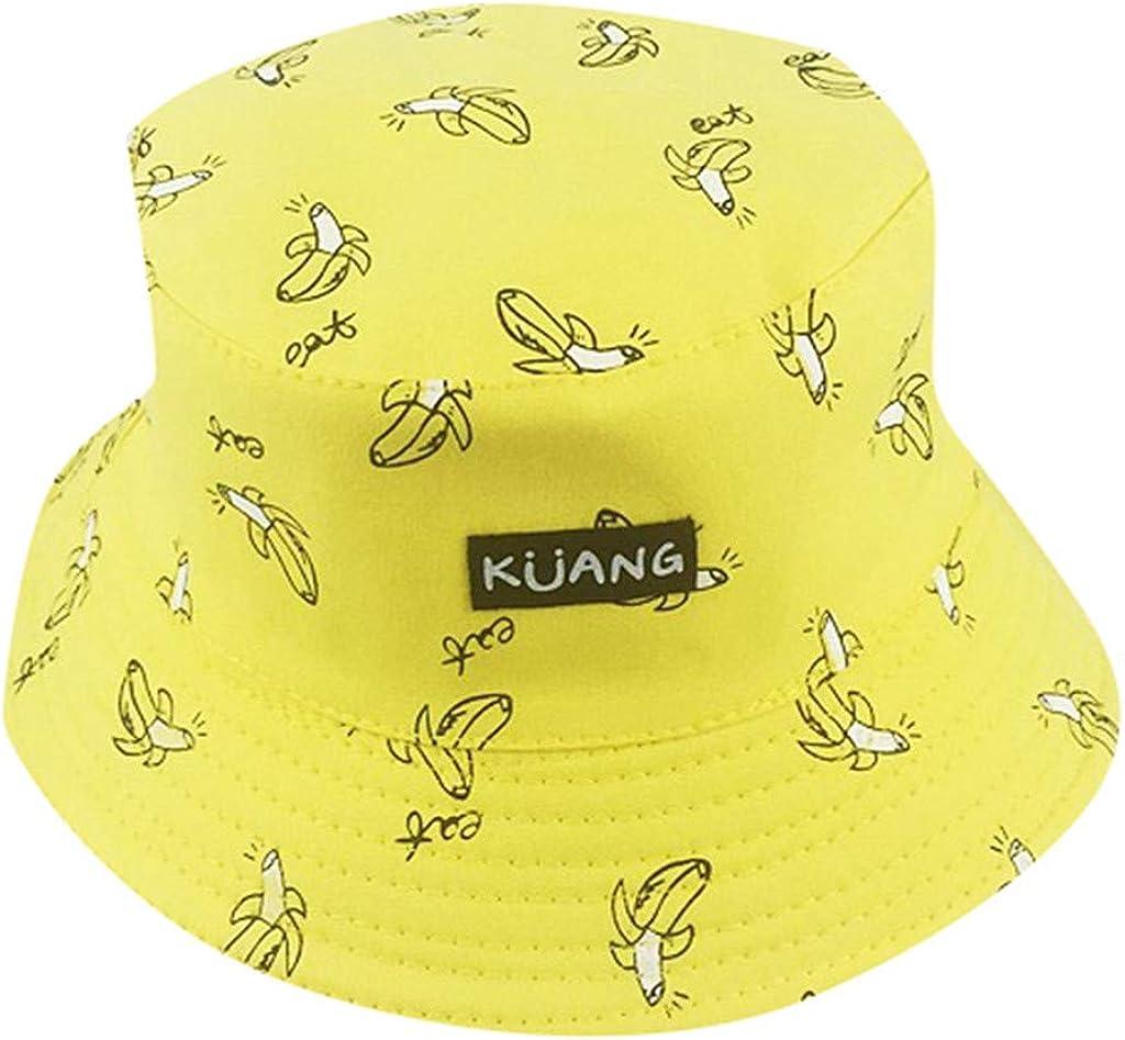 Loolik - Gorra/Sombrero de Pescador de Bordado de Banana/Tela de ...