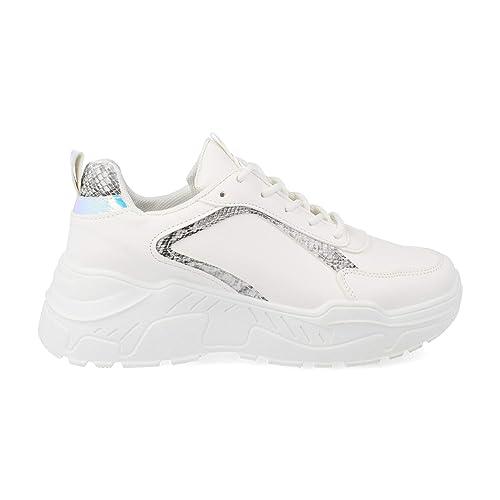 incontrare 0365c ff3ab Sneaker da Donna con Plateau Casual Scarpe Sportive con ...