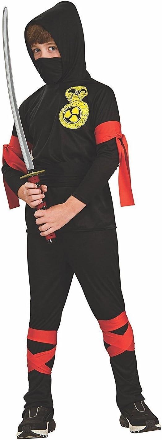 Size Childrens Small AVE60 Haunted house Boys Ninja Halloween Costume
