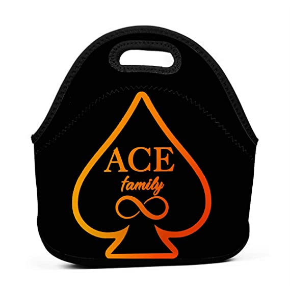 27264f01ccb1 Image Unavailable. Image not available for. Color  Lunch Bag Large Reusable  Women Lunch Box Neoprene Insulated Lunch Tote Bag Organizer for School Work