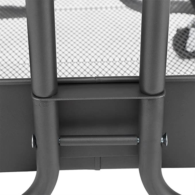 3 Nivel Bandeja de Almacenamiento Carretilla Carro Delgado Rolling Trolley con Ruedas Estantería Organizador Soporte de Suministros Diarios para Hogar ...