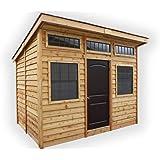 Outdoor Living Today Studio 12x8 Cedar Garden Shed- ON SALE NOW