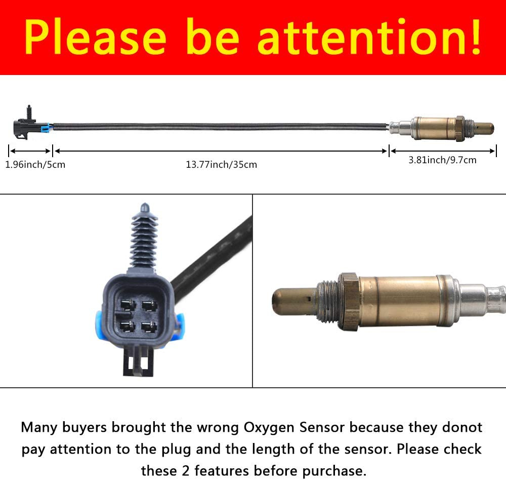More O2 Oxygen Sensor Front Rear Down Or Upstream XR3Z9G444CA,Fits Ford Ranger,Mustang,Expedition,Explorer,Escape,F-150,Mazda Tribute,Mercury,Aston,Lincoln Replaces# 15717,15716,15664,ZZC318861