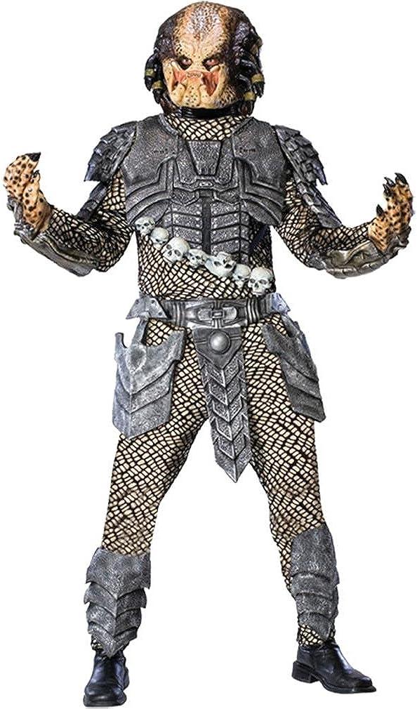 B000XMI4W6 Aliens Vs Predator Deluxe Predator Costume 61XGtakabbL.UL1010_