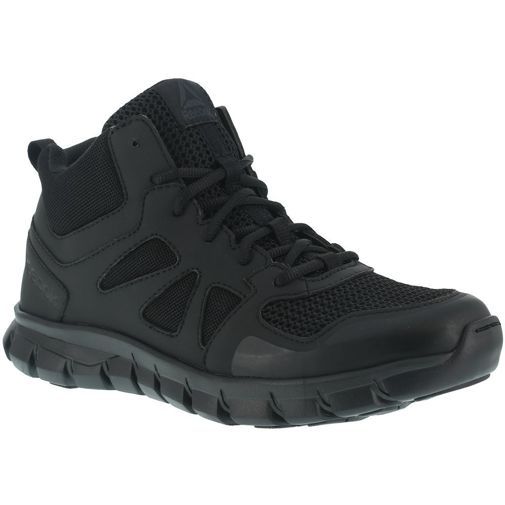Reebok Women's Sublite Cushion RB805 Military and Tactical Boot, Black, 8 W US