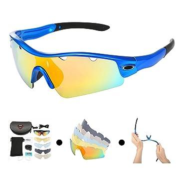 Lunettes de soleil polarisées sport pour cyclisme de pêche Golf Jaune jaune rtt7zHI