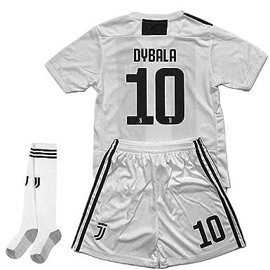 38a13ad344f Naxqa-xqy Dybala  10 Soccer Jersey 2018-2019 Juventus Home Kids Soccer  Jersey
