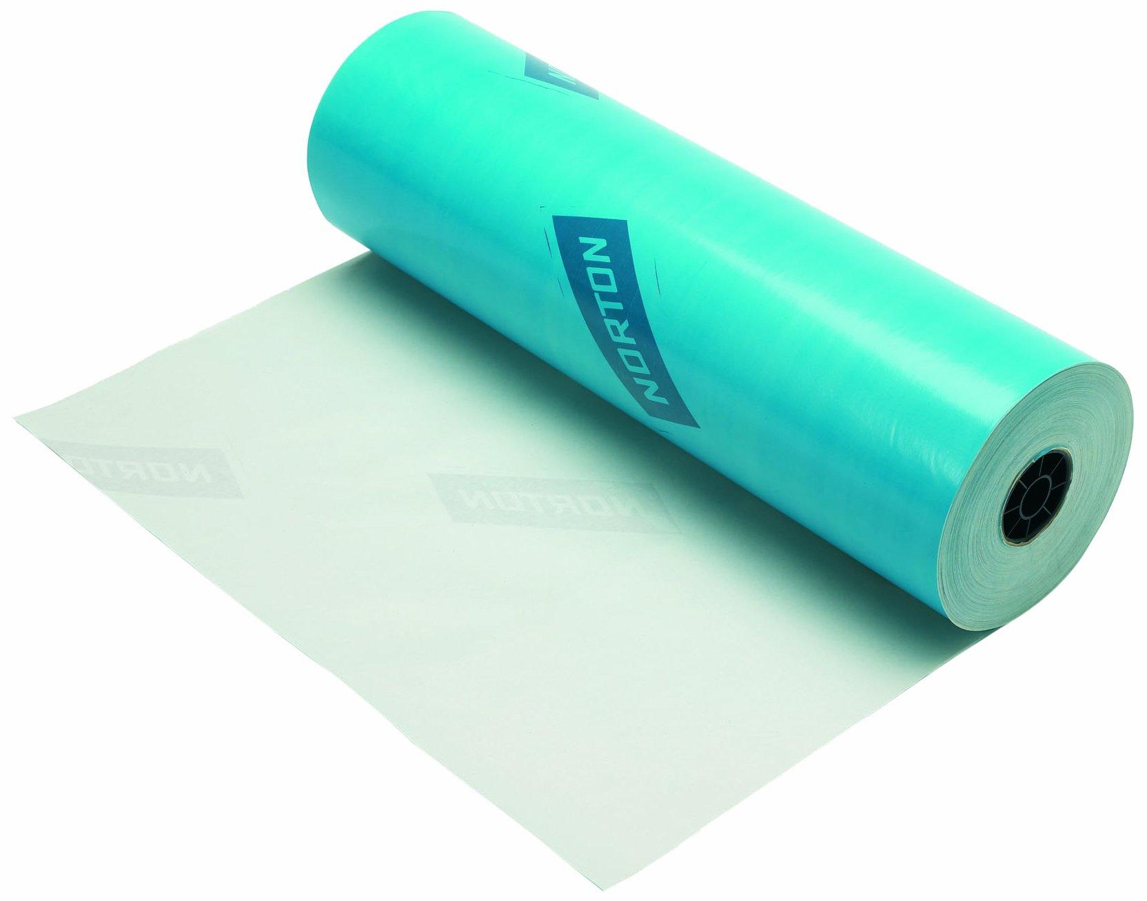 Norton 076607-05481 Blue 36'' x 750' Polycoated Masking Paper