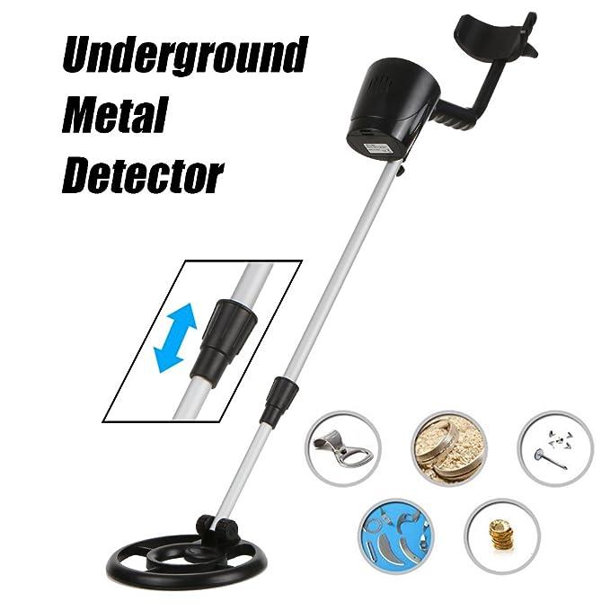 KKmoon Detector de metales subterráneo GC-1066 Detectores de oro Detector de cazador de tesoros Detector de circuitos físicos: Amazon.es: Bricolaje y ...