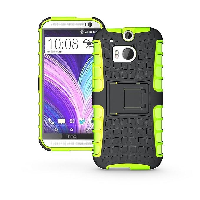 Nicelin - Carcasa rígida de Silicona para HTC One M8 (no ...