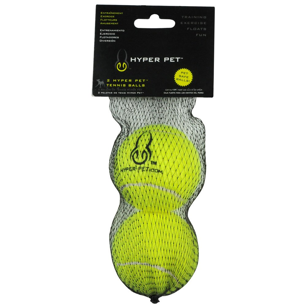 Pet Supplies : Hyper Pet Pet Tennis Balls for Dogs, Pet Safe Dog Toys for Exercise and Training, Pack of 2, Green : Amazon.com