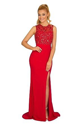 New Vogue Womens Sexy Long Jersey Handbeading Evening Prom Dress ...