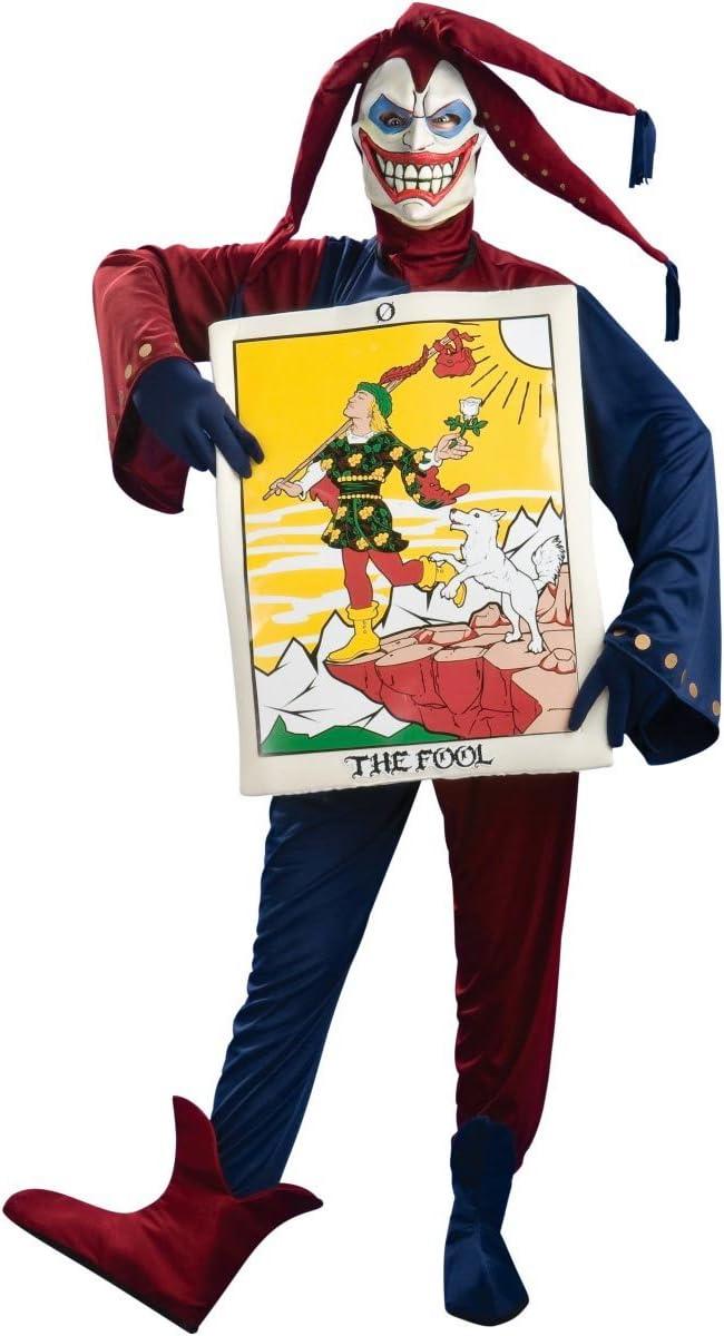 Disfraz carta de joker adulto - Única: Amazon.es: Juguetes y juegos