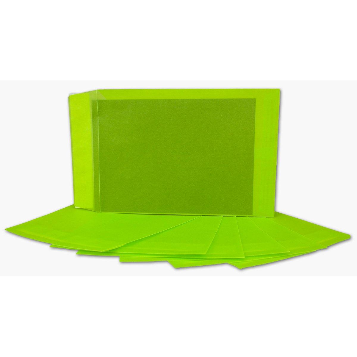 Transparente Umschläge DIN C5   200 Stück   Pastell-Orange-transparent mit seitlicher Verschlusslasche   Haftklebung   162 x 229 mm   Moderne Umschläge für Einladungen, Promotions, Giveaways B076CQ8S1Q |
