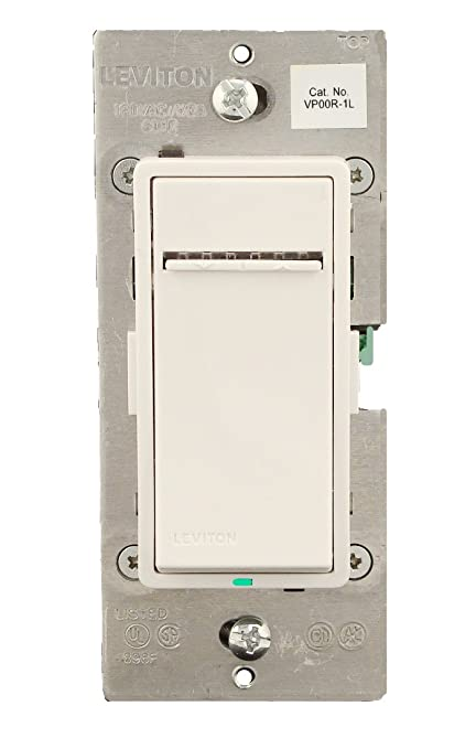 Leviton VP00R-1LZ Vizia + 3-Way or more Applications Digital Matching on