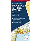 AA Road Map Provence & French Riviera (AA Touring Map France 15) (AA Road Map France Series)