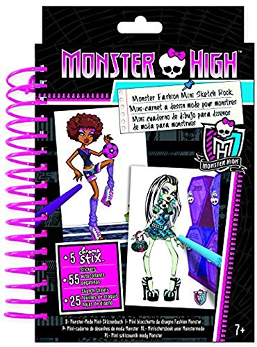 Monster High Birthday Outfits (Fashion Angels Monster High Mini Sketch Book)