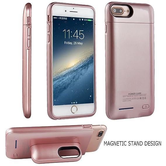 Amazon.com: Funda de batería para iPhone 7 (S) Plus iPhone 6 ...
