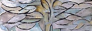 1art1 Piet Mondrian Poster Art Print - The Flowering Apple Tree, 1912 (62 x 21 inches)