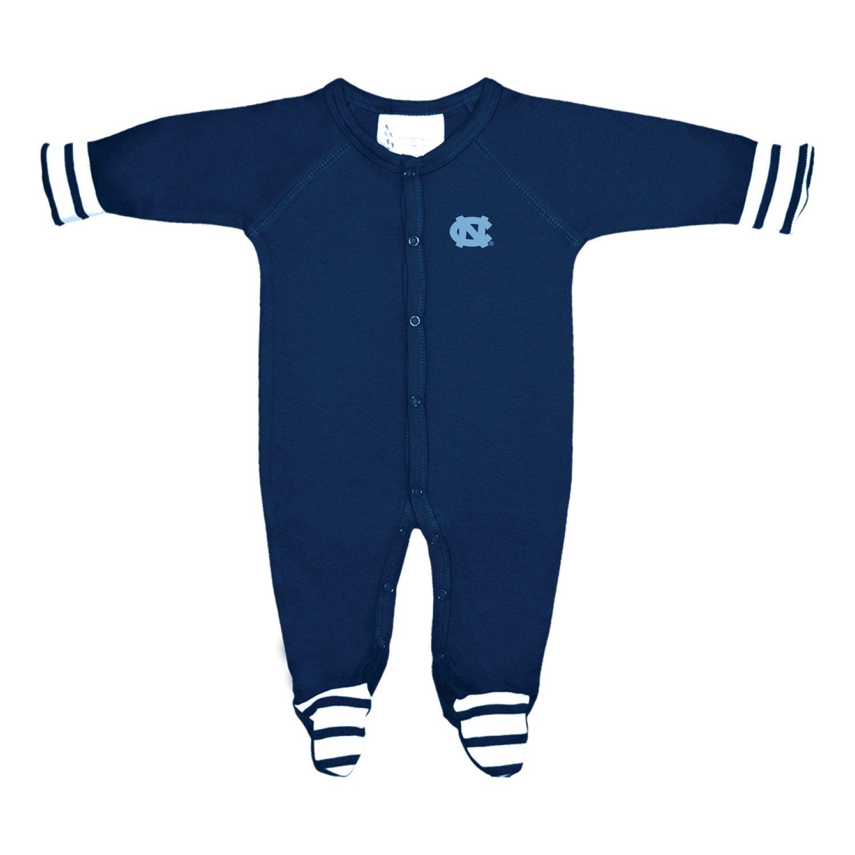 魅力的な価格 North North Carolina Tar Tar Heels Months NCAA新生児赤ちゃん長袖Colored Footed Romper B0763B6Q3S 0 - 3 Months, カサグン:ec97c72d --- fbrasil.com