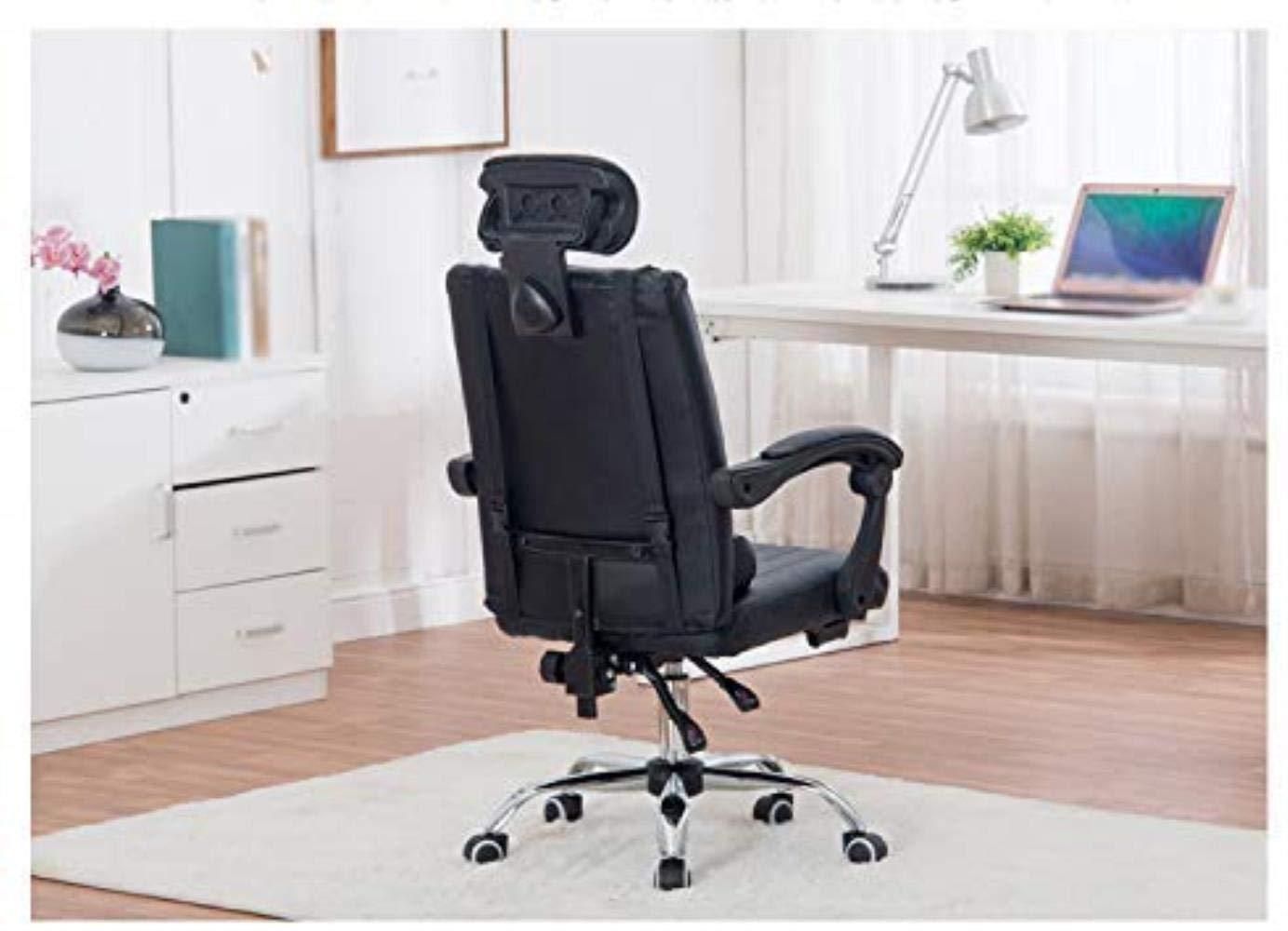 Kontorsstol andningsbar dator stol svängbar stol kontor liggande hemma stol stol spelstol säkerhet Svart BLÅ
