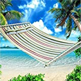 Introductions:Hammock is seen in home use and mostly for outdoor activities. Intend to have a try of our hammock? How about this Stylish Printing Style Hammock Beach Swing Double Beds for Outdoor Camping Travel? It is suitable for one person only....