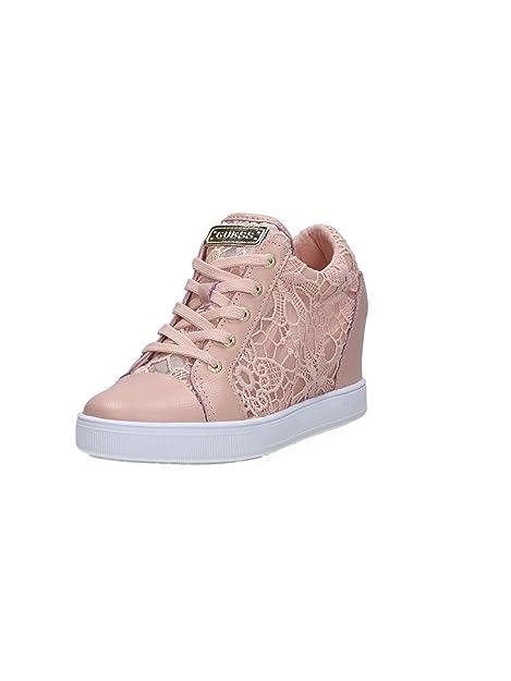 GUESS Donna Finna scarpe da ginnastica rosa Size: 41