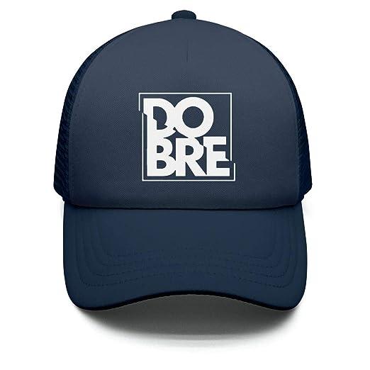 Dobre Brothers Logo White Truckers Caps Adjustable Baseball Hat