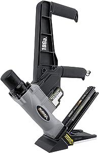 "NuMax S18GLCNDH Pneumatic 18 Gauge 1-3/4"" L-Cleat Dual Handle Flooring Nailer"